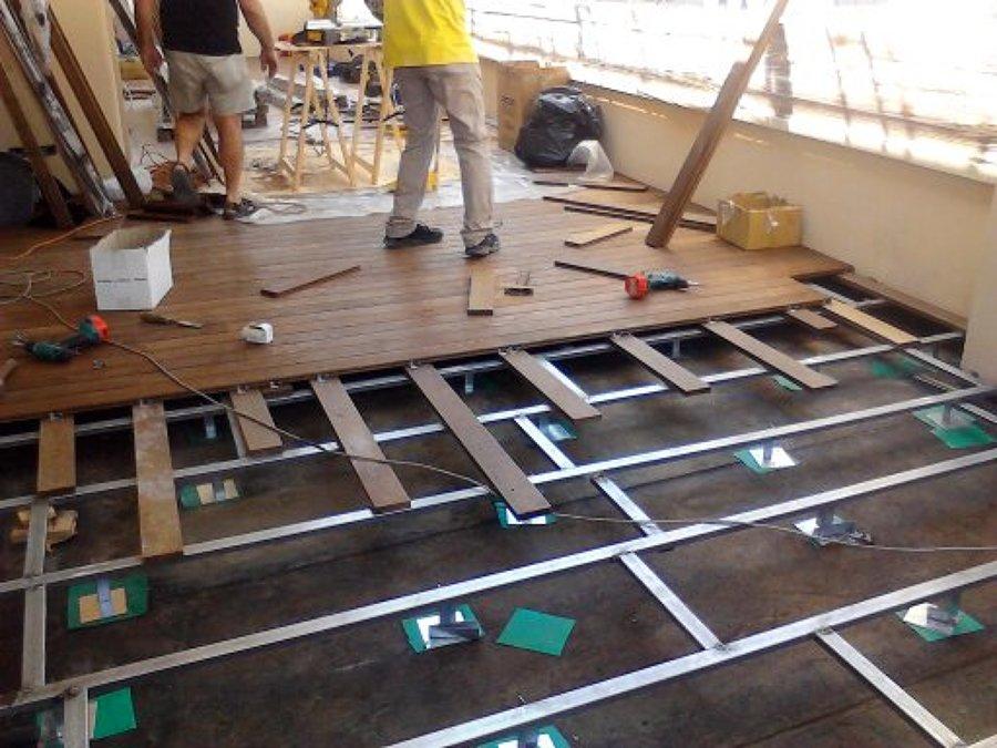 Foto parquet terrazzi di ditta paolo giuliano pavimenti for Pavimenti terrazzi