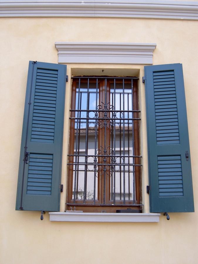 Particolare finestra dopo la ristrutturazione