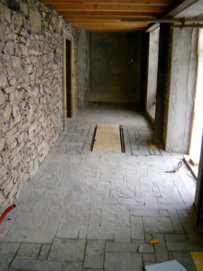 Passaggio interno museo minerario