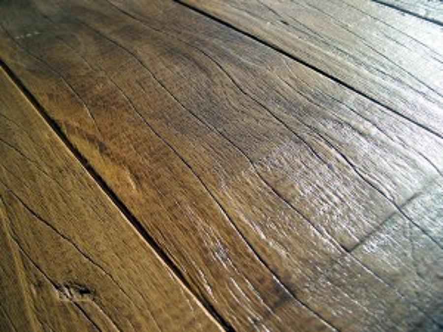 Foto: Pavimentazione In Assi di Legno Vecchio di Agrifaber #155007 ...