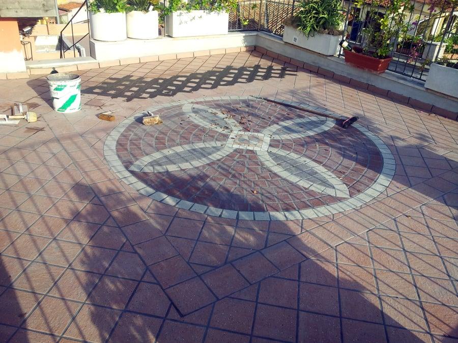 Foto: Pavimentazione Terrazzo a Mosaico di Cama Impianti #149642 ...