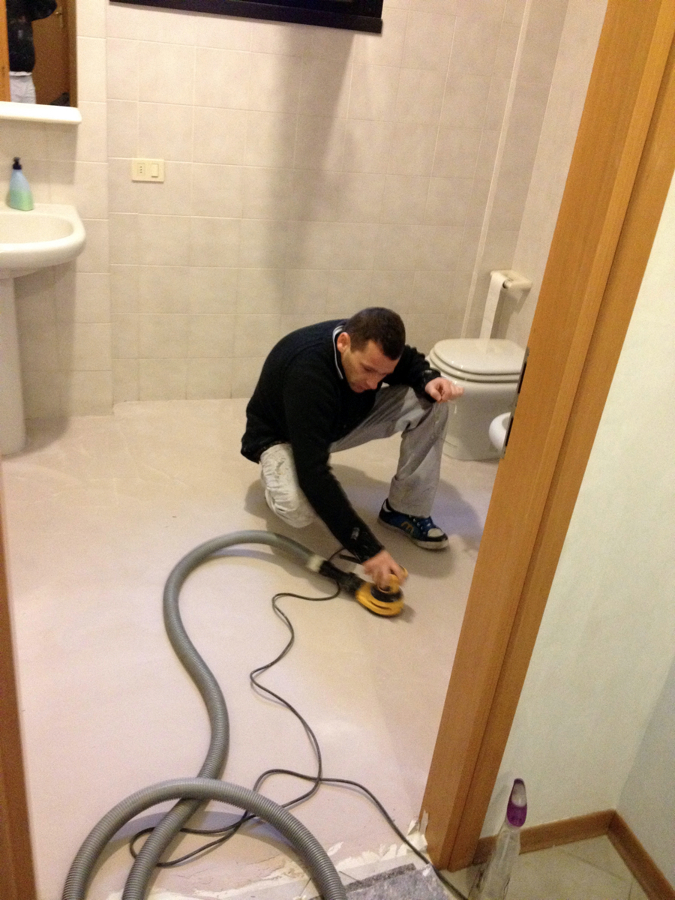 pavimentazioni in resina