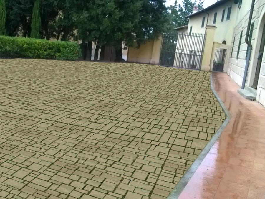 Foto pavimenti di giardino toscana 427205 habitissimo for Pavimenti esterni economici