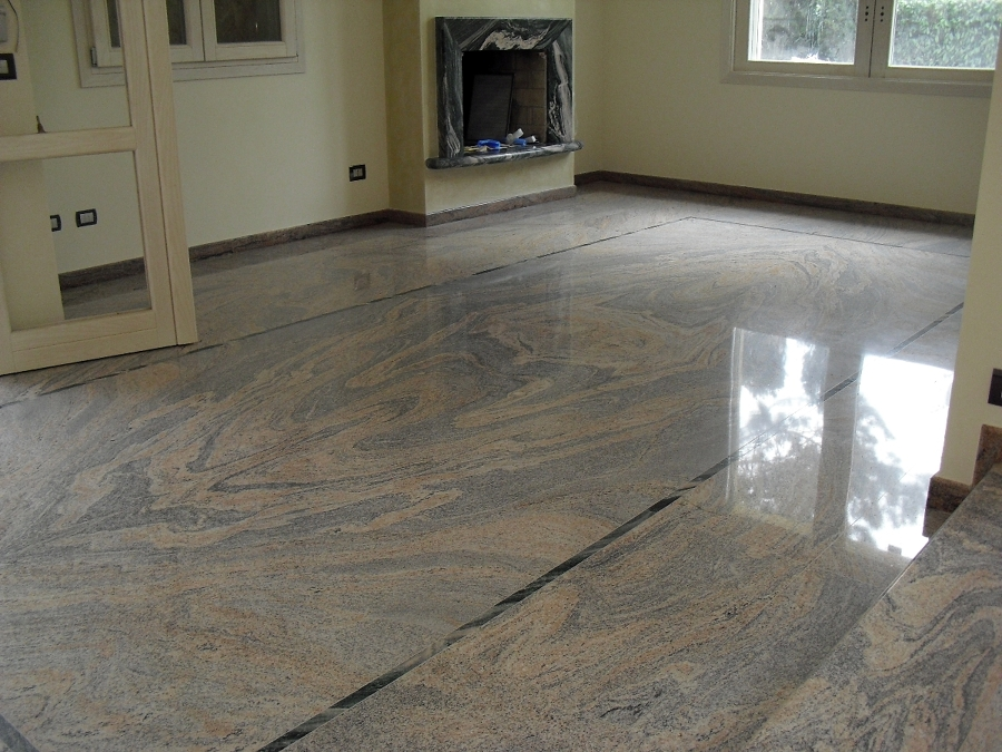 Foto pavimento in granito di mediani gian luca 81151 - Granito per scale ...