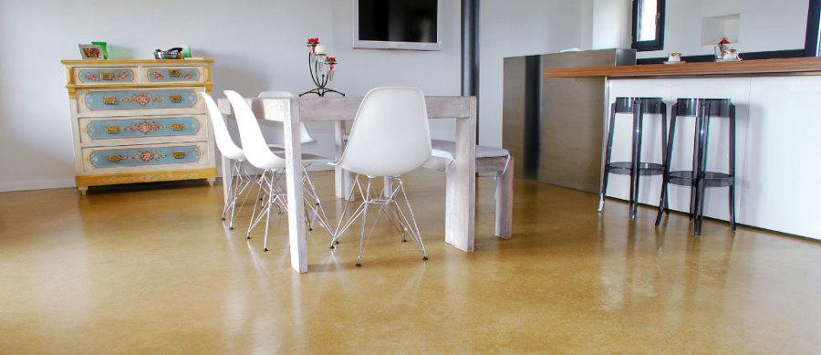 Foto pavimento in micro cemento da 3 mm di spessore di - Piastrelle spessore 3 mm prezzi ...