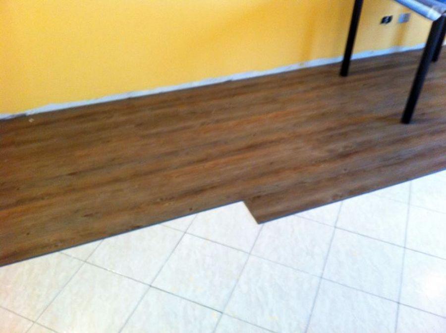 Foto pavimento in pvc di ab color di claudio sommella for Pavimento pvc flottante