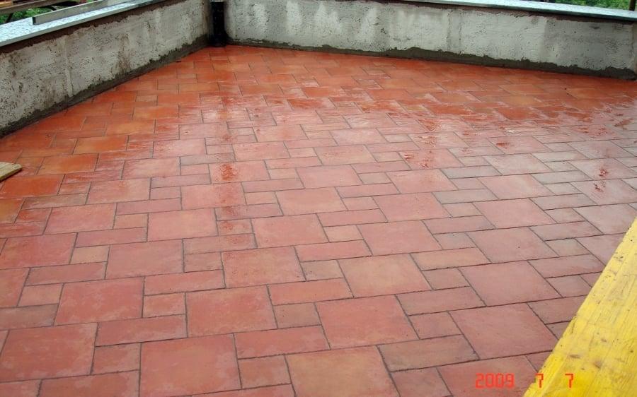 Foto pavimento terrazzo di puggioni giovanni 95843 habitissimo - Pavimento per terrazzo ...