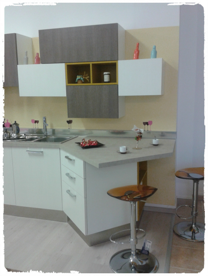 Foto penisola cucina obliqua di house design arredamenti 185037 habitissimo - Cucina con penisola ...