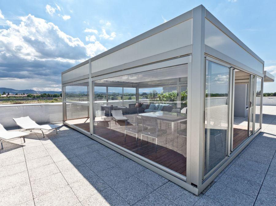 Foto pergotenda kubo di oasis srl semplificata 387951 habitissimo - Tenda da tetto oasis ...