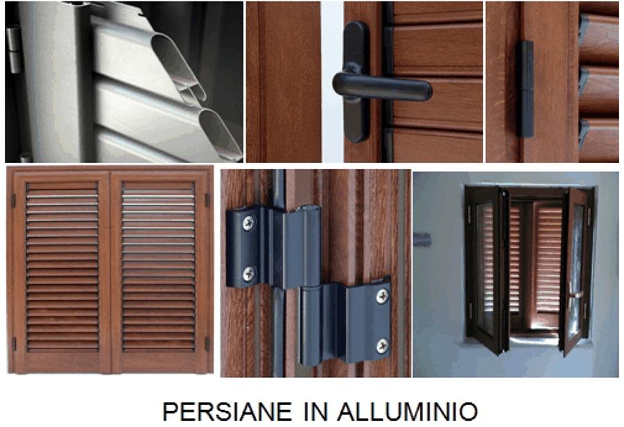 Foto persiane in alluminio di edilsalento 55003 for Persiane in alluminio bricoman