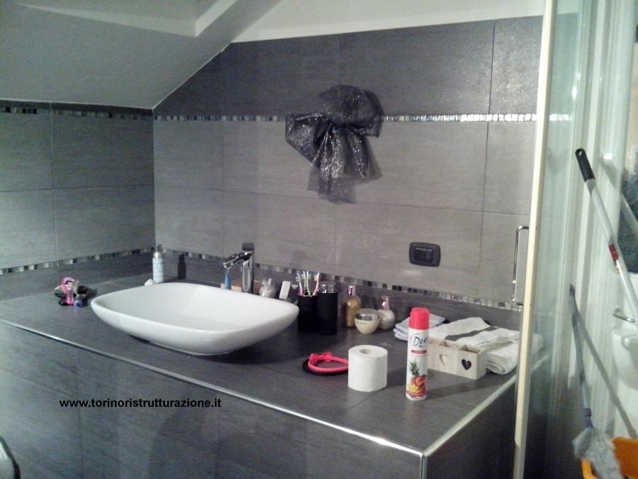 Foto piano lavabo in muratura di md ristrutturazioni - Lavabo in muratura per bagno ...