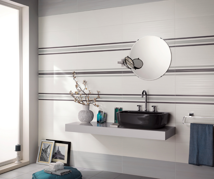 Foto: Piastrelle Per Bagni Linea Dress Up di Ceramiche Supergres #84707 - Hab...