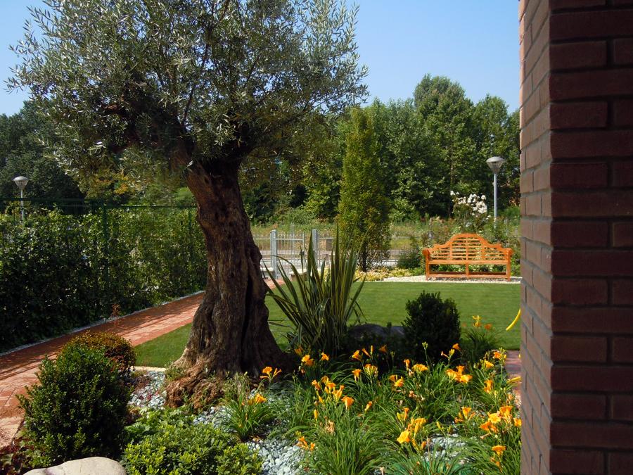 Foto piccolo giardino romantico di studio green 65284 for Giardino piccolo