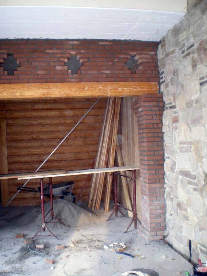 Muri con mattoni a vista excellent murali in pietra per - Muri a vista interni ...