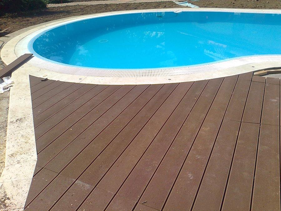 Foto piscina a fagiolo di chiaraparquet 178587 habitissimo - Piscina a fagiolo ...