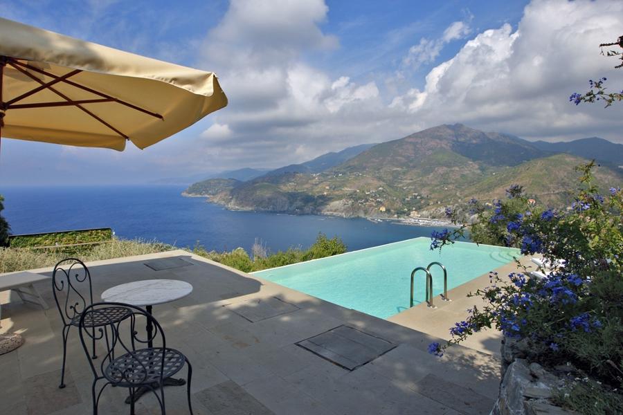 Foto piscina con bordo a cascata di sici piscine 148036 for Piscina con cascata