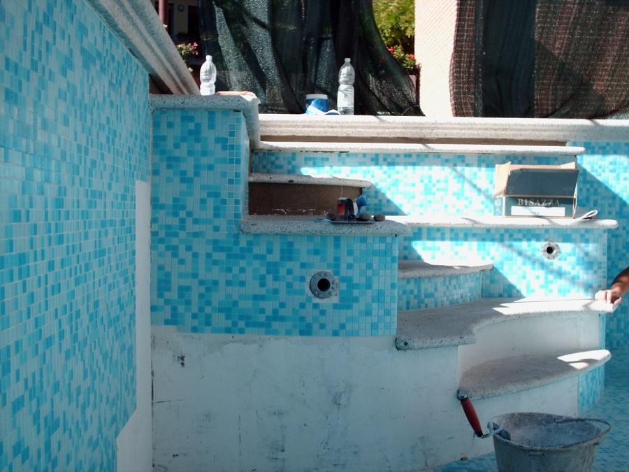 piscina mosaico