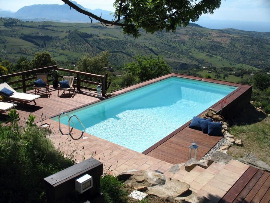 Foto piscine a skimmer de piscine systems 77569 - Progetto villa con piscina ...