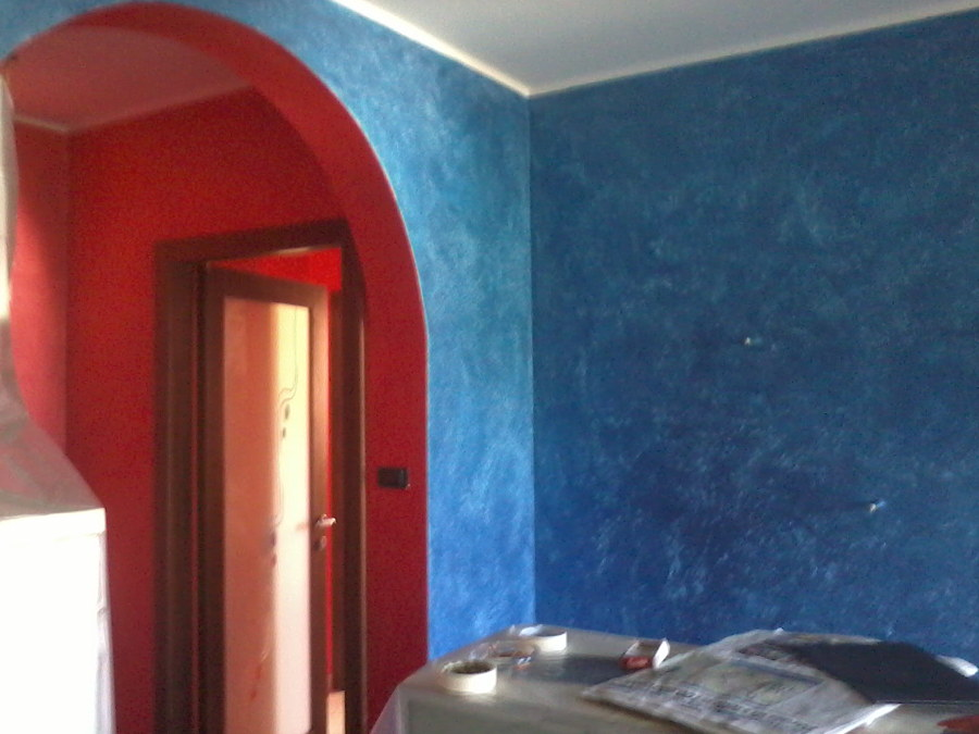 Foto pittura casa dei sogni de decorgessi di sini silvano for Casa dei sogni personalizzata