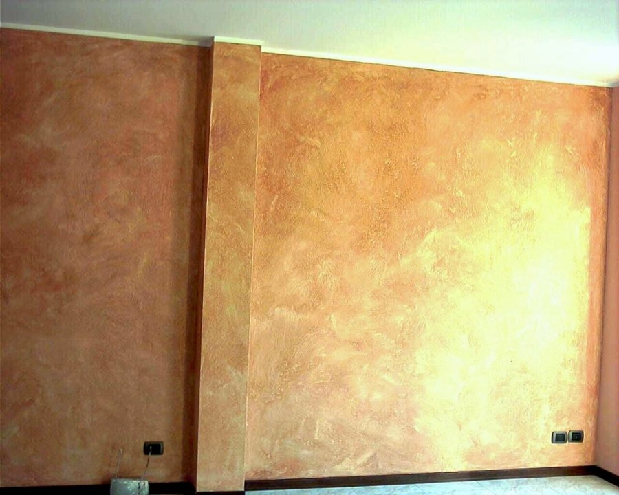 Foto pittura effetto anticato di galesi tinteggiature for Immagini pittura pareti