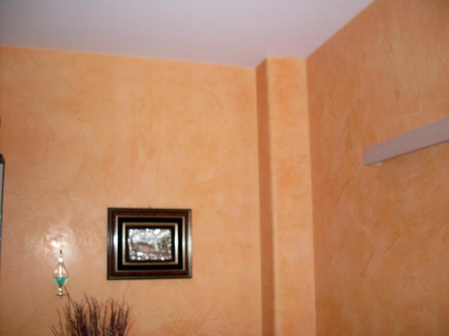 Foto pittura in spatolato di pitturalongo 49941 for Muro spugnato