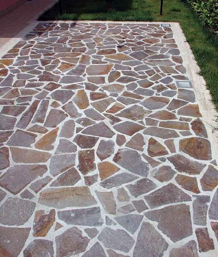 Foto porfido mosaico di dercin porfidi srl 111659 - Mosaico per esterno ...