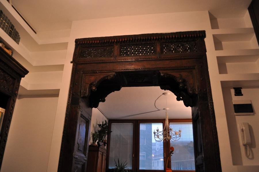 Foto porta ad arco dell 39 800 di max tinteggiature 90370 - Porta ad arco ...