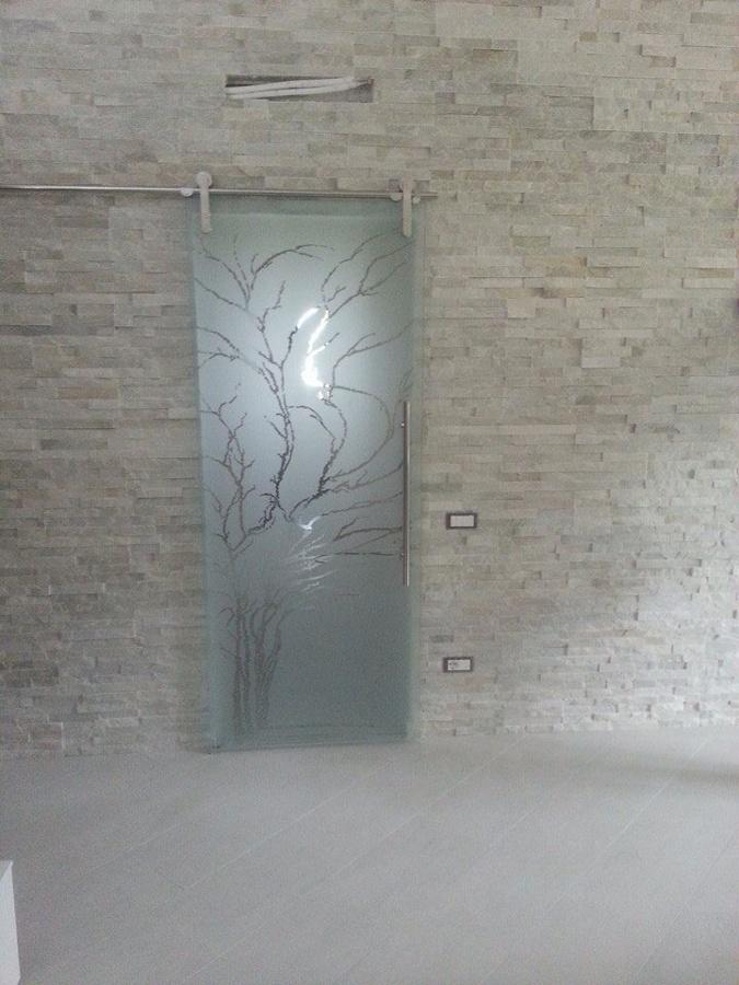 Foto porta cristallo casali de g s costruzioni snc - Casali porte scorrevoli ...