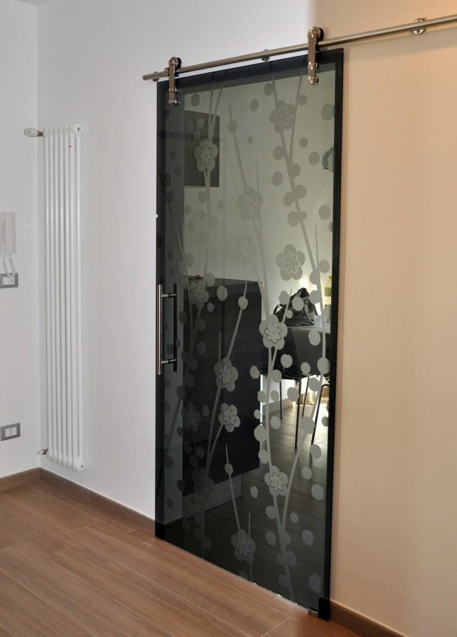 Foto porta cristallo fum di mazzoli porte vetro 60941 - Foto di porte ...
