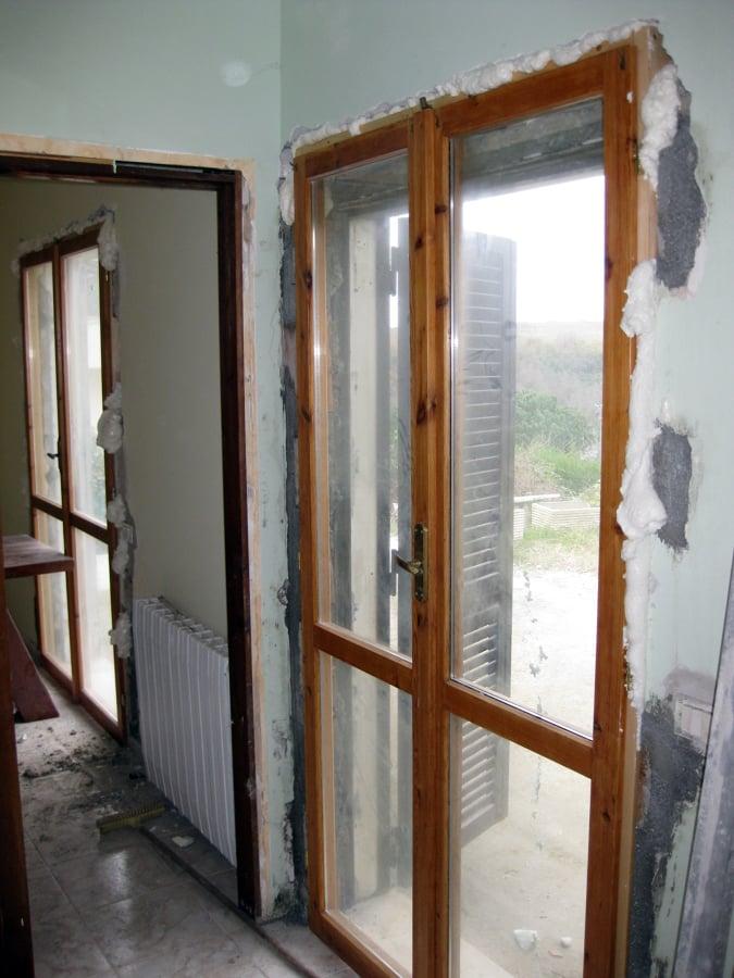 Foto porta finestra comune in legno di ditta individuale cristofaro carmelo 156880 habitissimo - Porta finestra legno ...