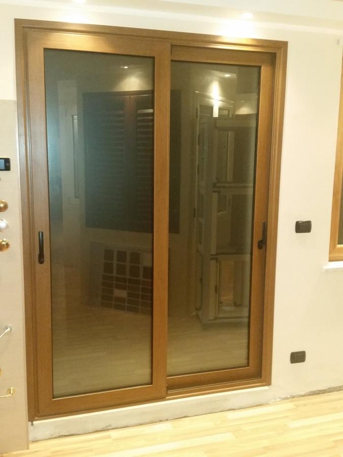 Foto porta finestra in alluminio di tecnoinfissi 242304 - Porta finestra alluminio ...