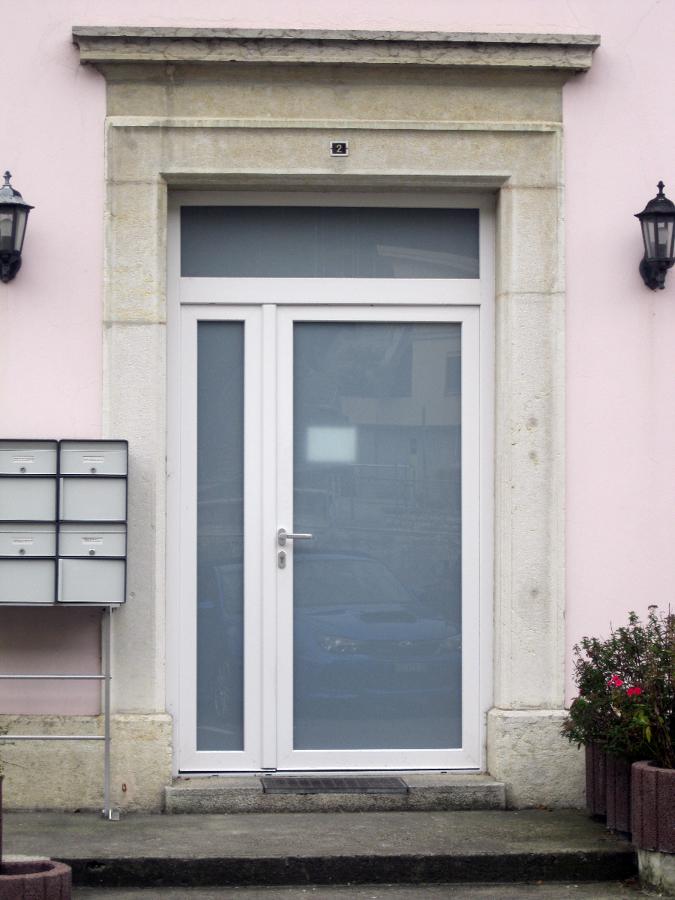 Foto porta ingresso pvc de dibinfissi srl 54204 for Porta d ingresso coloniale olandese
