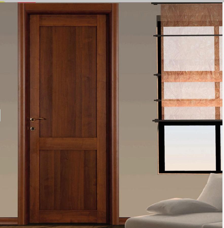 Foto porta interna colore noce nazionale 2 bugne di stile - Caf porta rimini pesaro ...