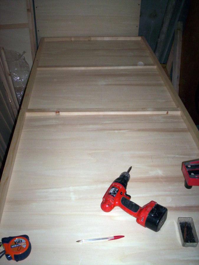 porta libro in legno