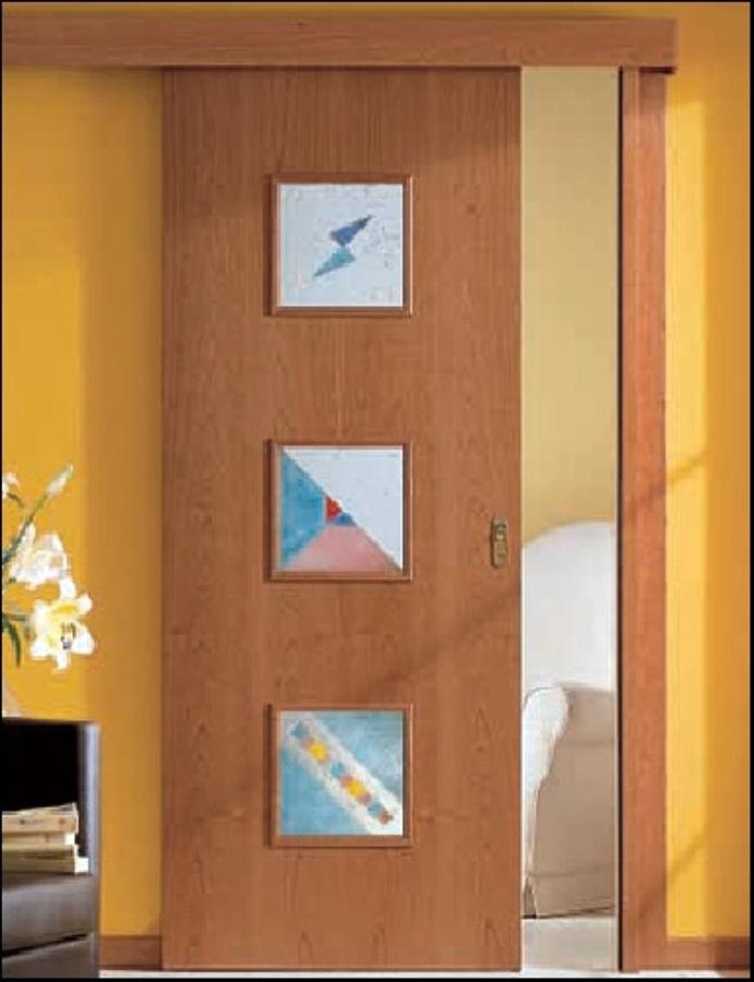 Foto porta scorrevole esterno muro di gardani sicurezza - Porta scorrevole esterna muro ...