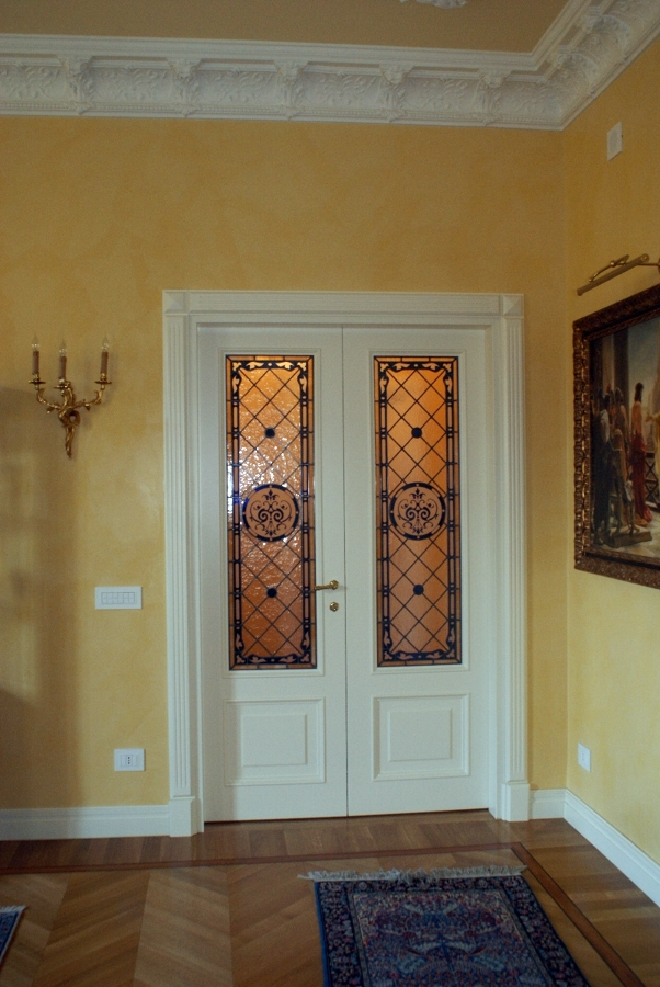 Porte antiche con vetro no74 regardsdefemmes - Porte a vetri decorate ...