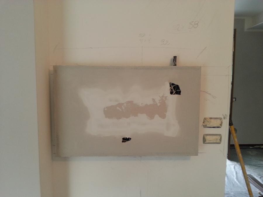 Foto porta tv in cartongesso di corimi s r l 269374 - Porta tv in cartongesso ...