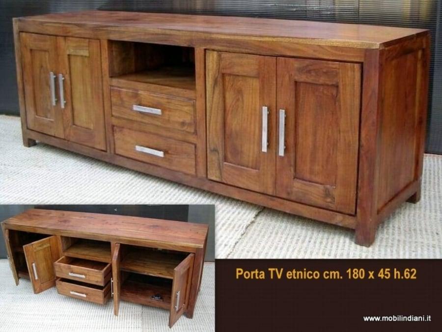 Foto portatv indiano di mobili etnici 113766 for Arredamento etnico torino