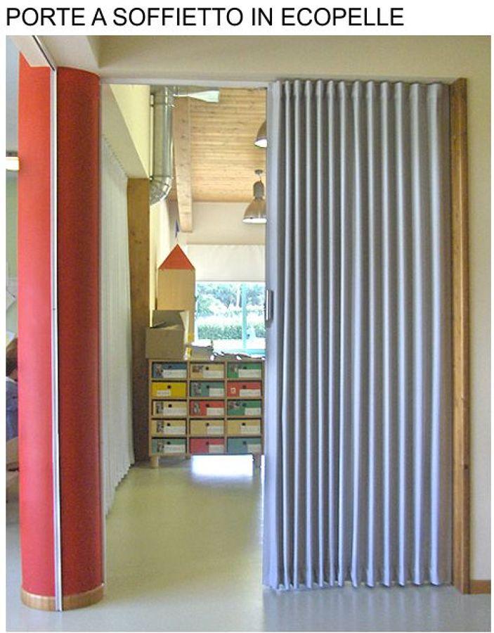 Foto porte a soffietto in ecopelle di portend lissone - Porte fai da te legno ...