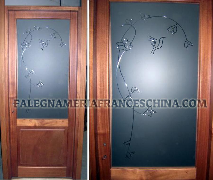 Foto porte con vetri artistici di falegnameria - Foto di porte ...