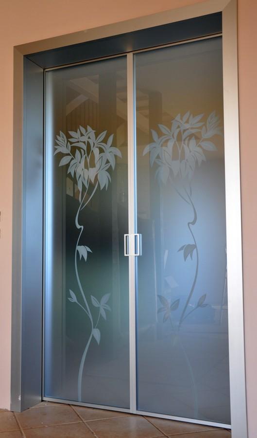Foto porte cristallo di mazzoli porte vetro 60959 for Porte scorrevoli in vetro napoli