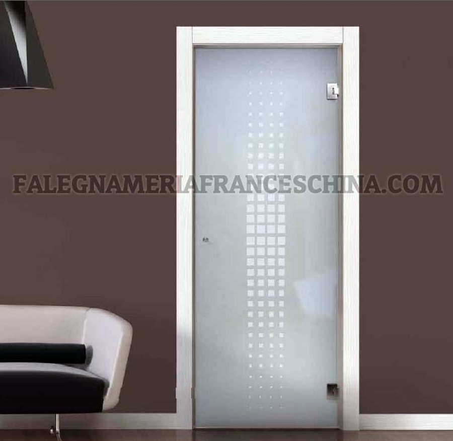 Foto porte interne solo vetro di falegnameria franceschina 54294 habitissimo - Porte tutto vetro ...