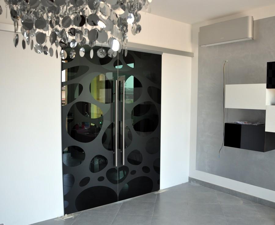 Foto porte vetro cristallo di mazzoli porte vetro 60945 for Porte scorrevoli in vetro napoli