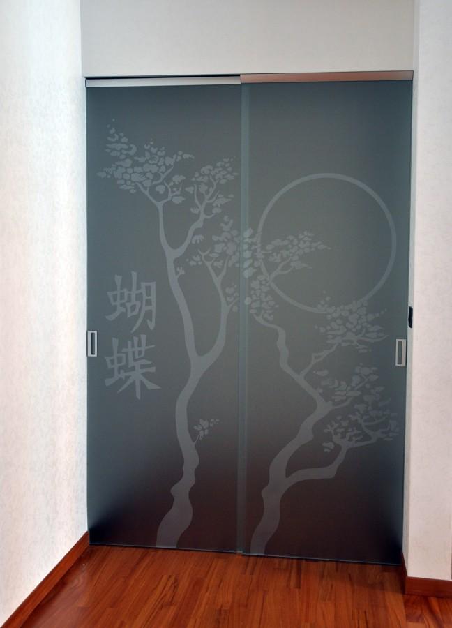 Foto porte vetro scorrevoli di mazzoli porte vetro 60946 for Immagini porte scorrevoli vetro