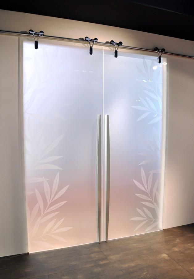 Foto porte vetro scorrevoli di mazzoli porte vetro 60966 - Porte scorrevoli esterno muro prezzi ...