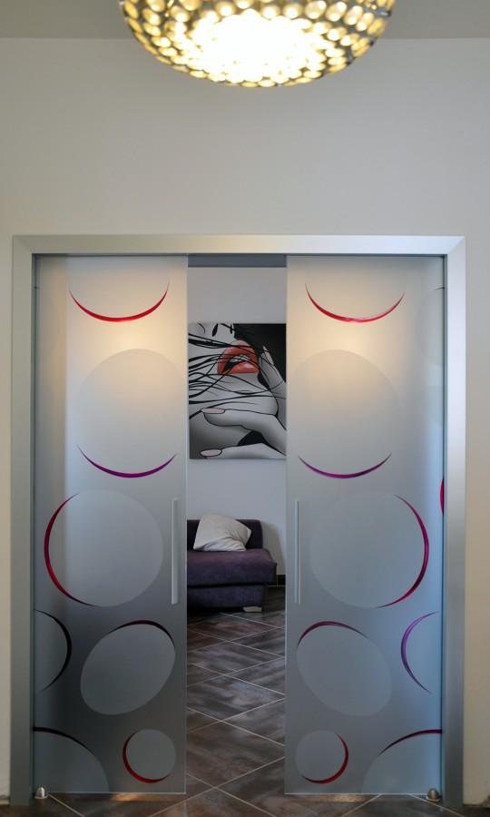 Foto porte vetro scorrevoli di mazzoli porte vetro 60977 habitissimo - Foto porte scorrevoli ...