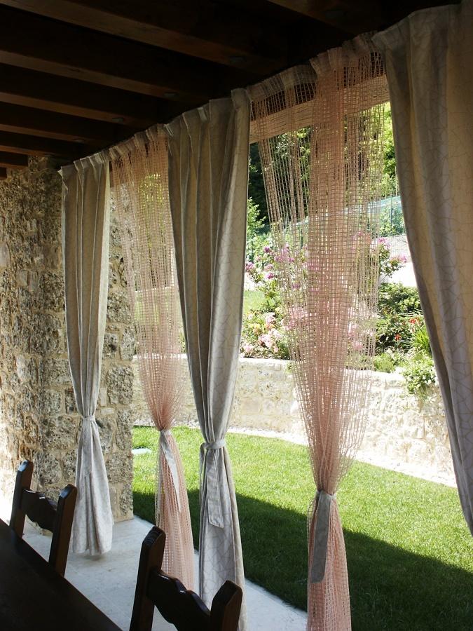 Foto porticato di l 39 artigiano di contessa ernesto 51461 - Tende da esterni ikea ...