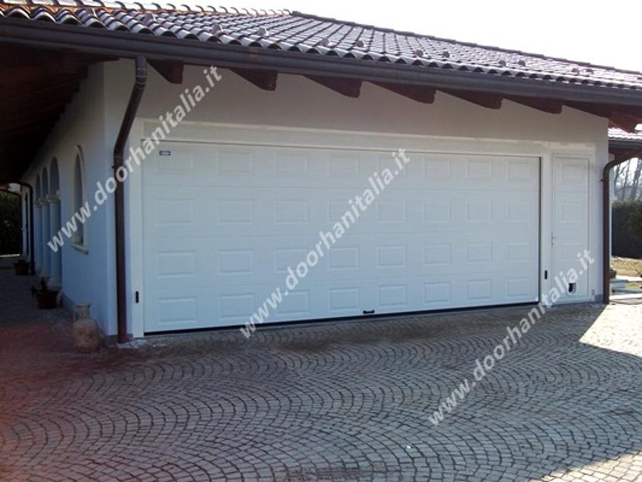Foto portone sezionale residenziale rsd02 de doorhan - Portone sezionale laterale prezzi ...