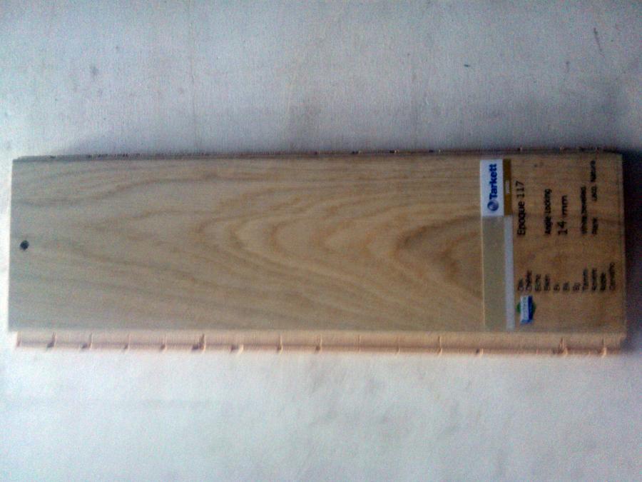 prefinito legno  Frassino bisellato