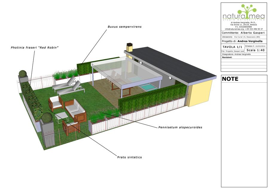 Foto: Progettazione 3D Per Terrazzo Panoramico di Natura Mea #218482 ...